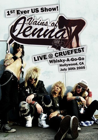 Vains of Jenna 'Live at Cruefest 2005' DVD Autographed by Lizzy Devine