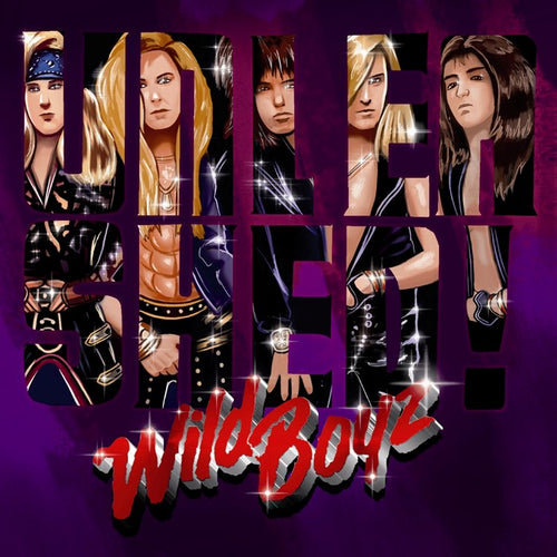 Wild Boyz 'Unleashed!' Limited Edition Cover 2018 Reissue