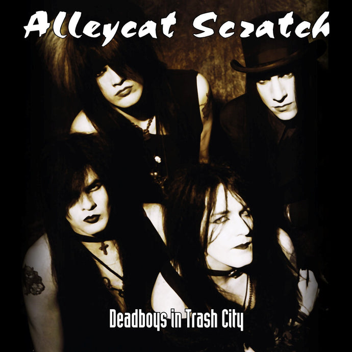 Alleycat Scratch 'Deadboys In Trash City' Limited Edition Cover