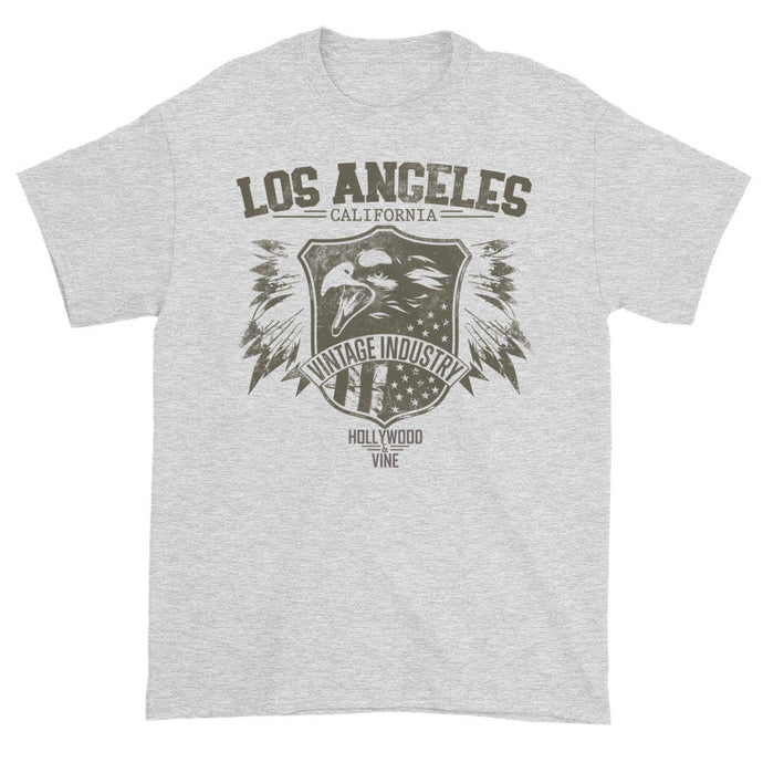 Los Angeles Vintage Grey Short Sleeve Unisex T-Shirt