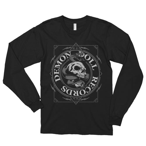 Demon Doll Skull Logo Long sleeve t-shirt (unisex)