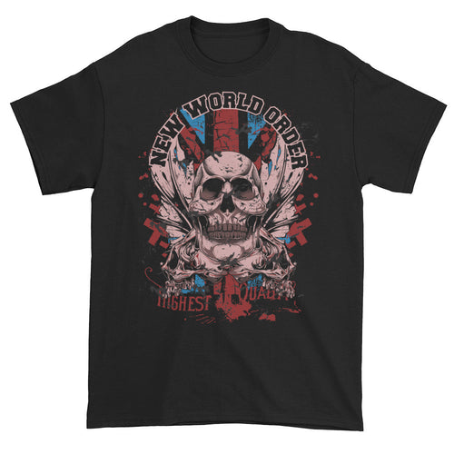 New World Order Black Short Sleeve Unisex T-Shirt