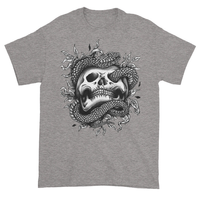 Snake Eyes Grey Short Sleeve Unisex T-Shirt