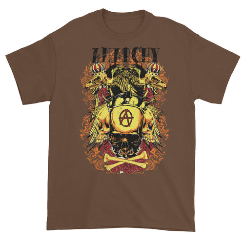 Branded by Anarchy Brown Short Sleeve Unisex T-Shirt