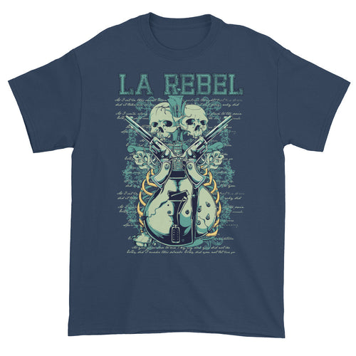 L.A. Rebel Blue Short Sleeve Unisex T-Shirt