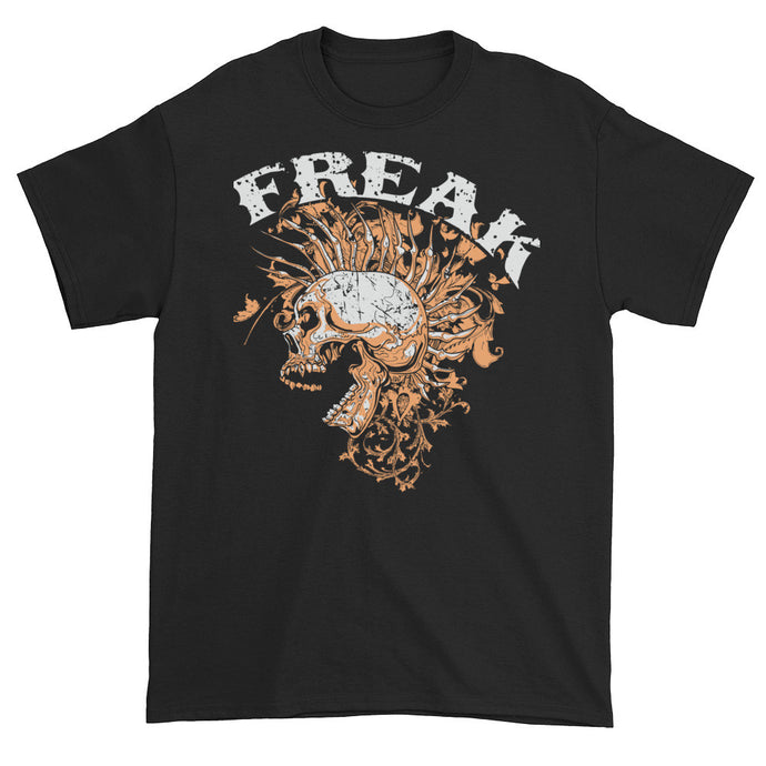 Mohawk Freak Black Short Sleeve Unisex T-Shirt
