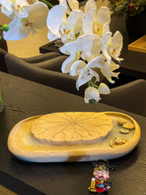 Load image into Gallery viewer, Round Lotus Duān Yán Stone Tea Tray