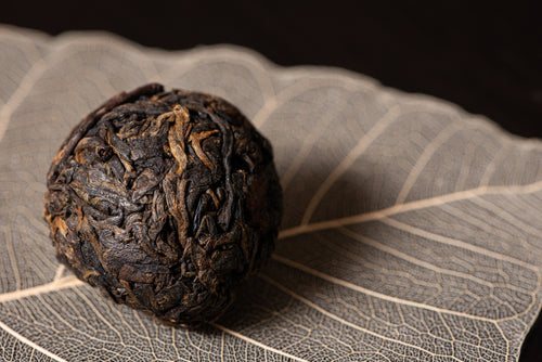2000 YiBang Mun Sung (曼松) Dragon Balls | Aged Sheng PuErh Tea