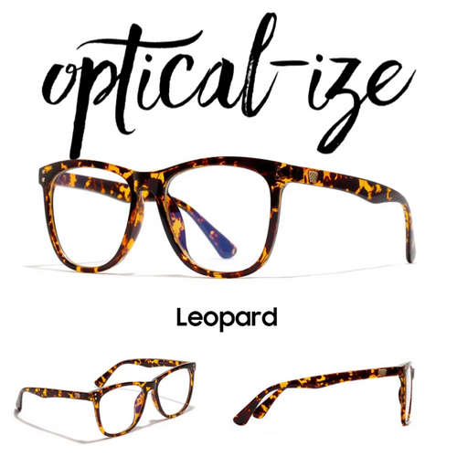 LEOPARD - Retro Blue Light Blocking Glasses