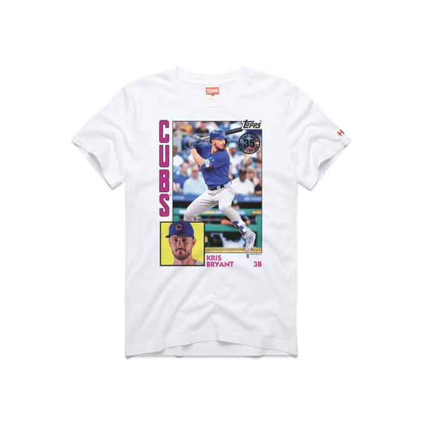separation shoes c3877 88947 1984 Topps Baseball Kris Bryant Cubs Chicago MLB Player T ...