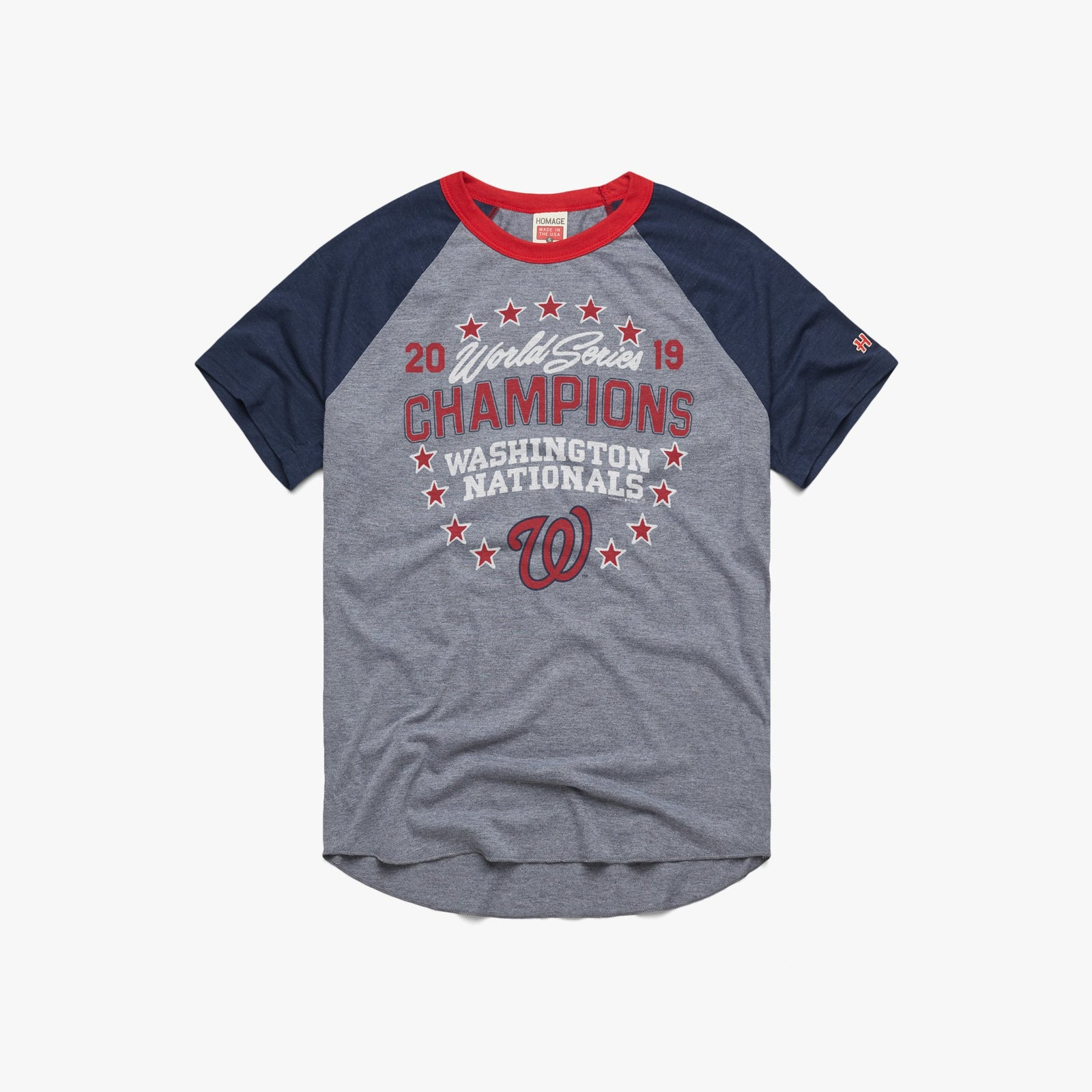 2019 World Series Champions Nationals Baseball Tee