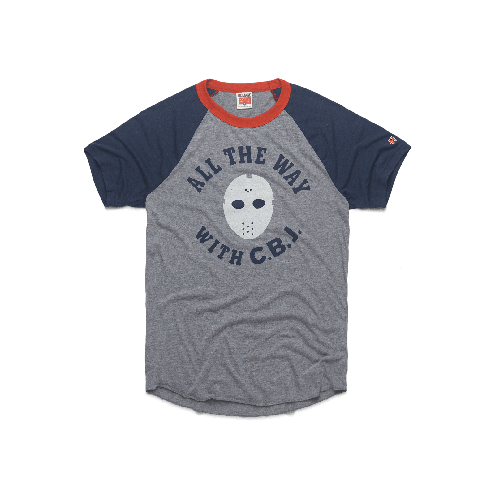 All The Way With CBJ Baseball T-Shirt