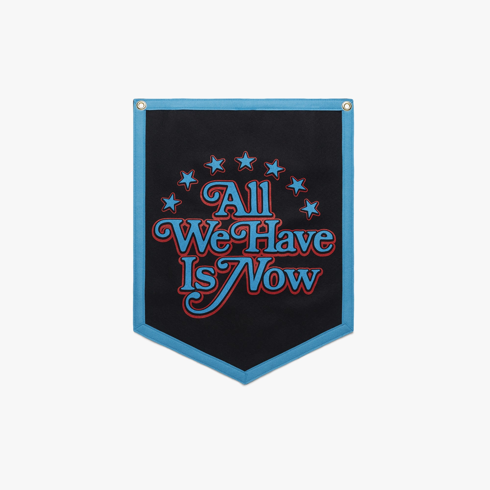 All We Have Is Now Camp Flag