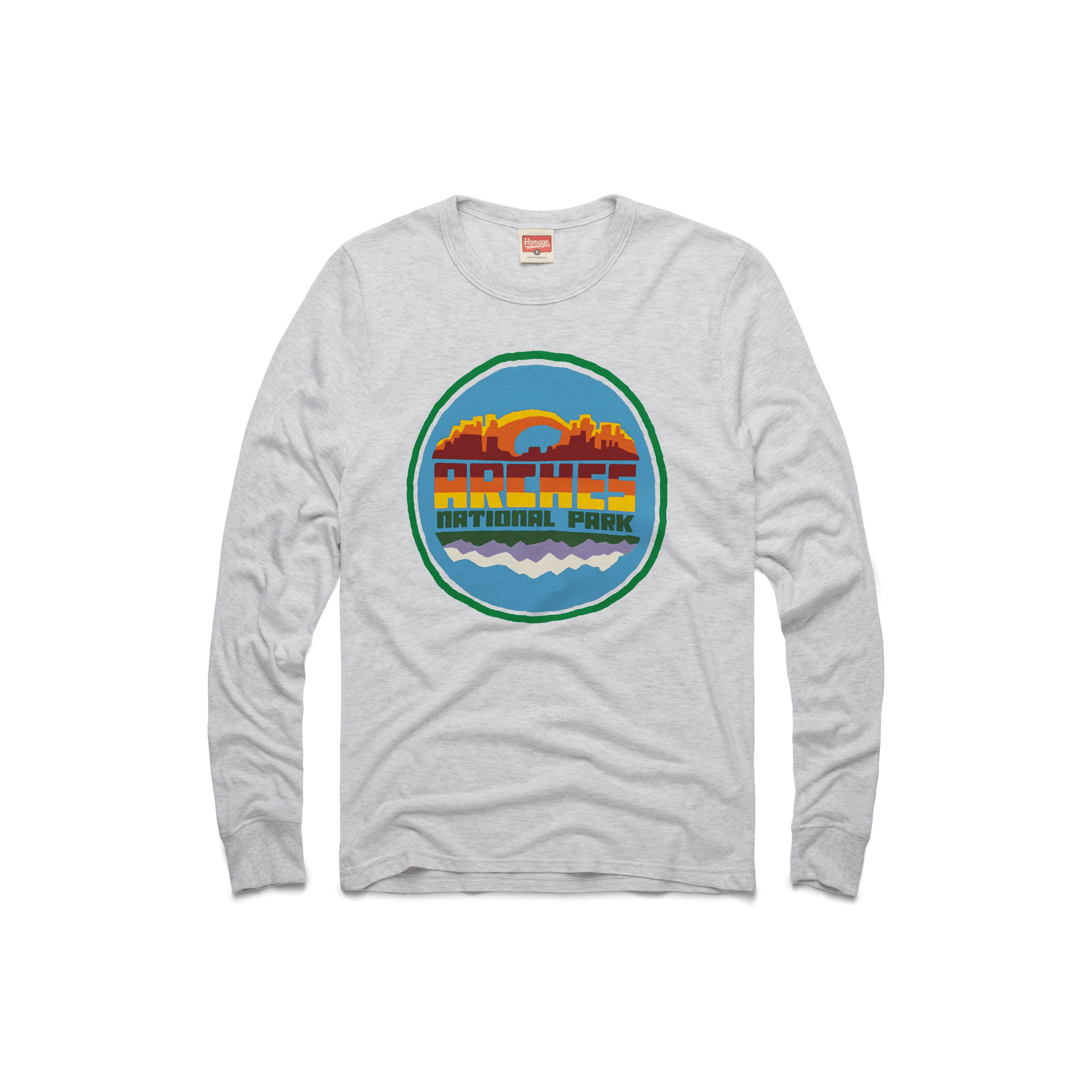a6a3c21eb00 Retro HOMAGE Outdoors Camping Hiking And National Parks Apparel