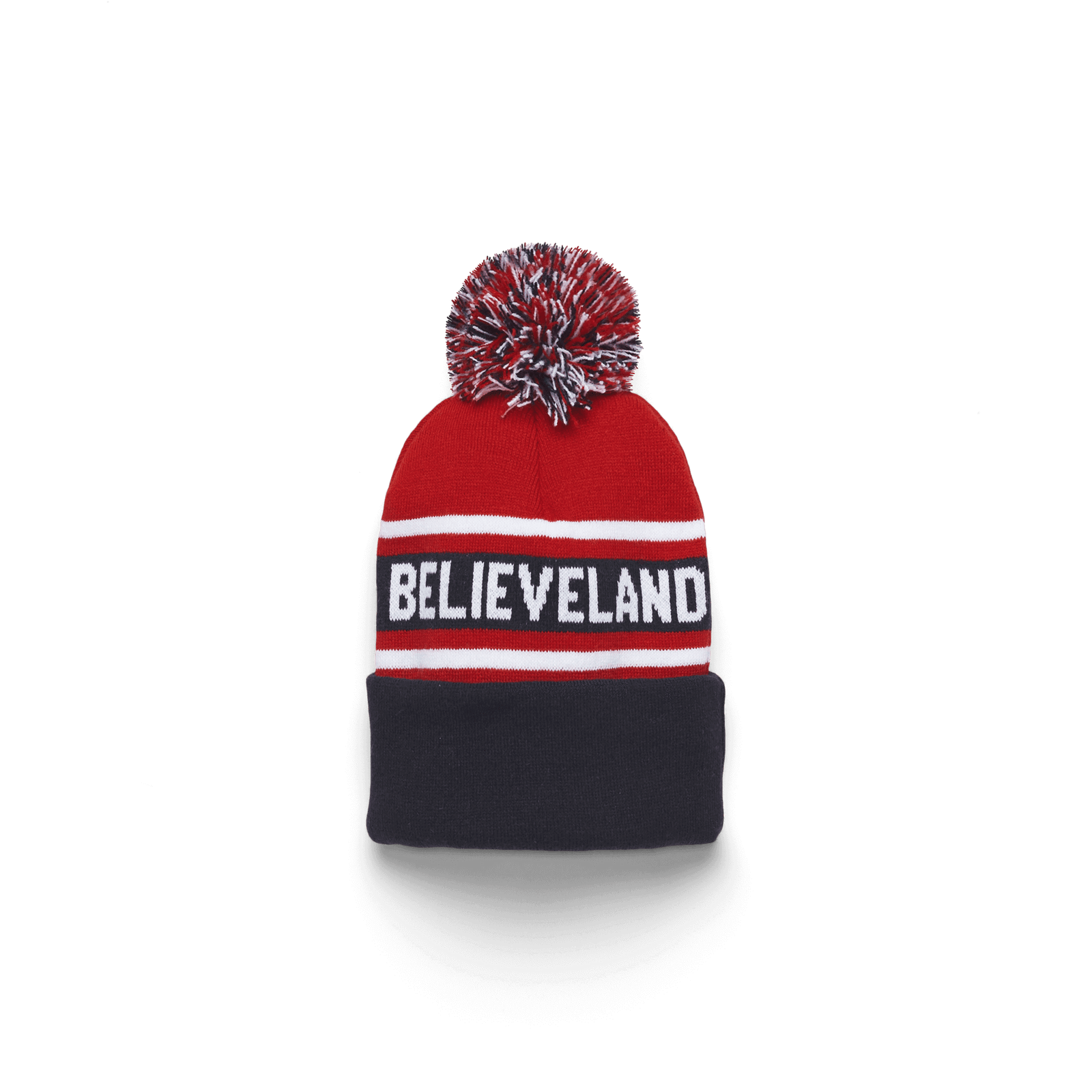 Believeland Knit In Pom Beanie
