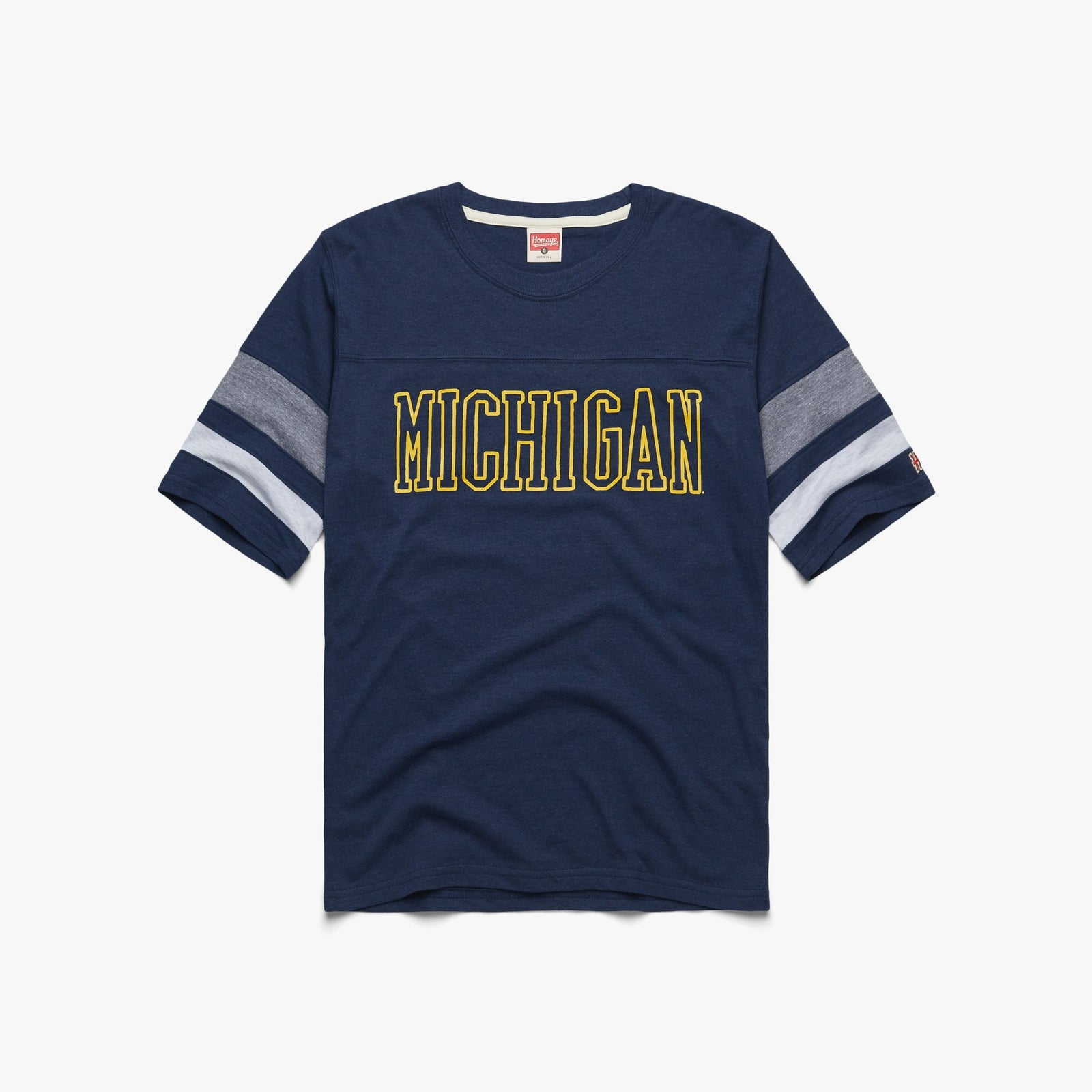 Block Michigan Halftime Tee