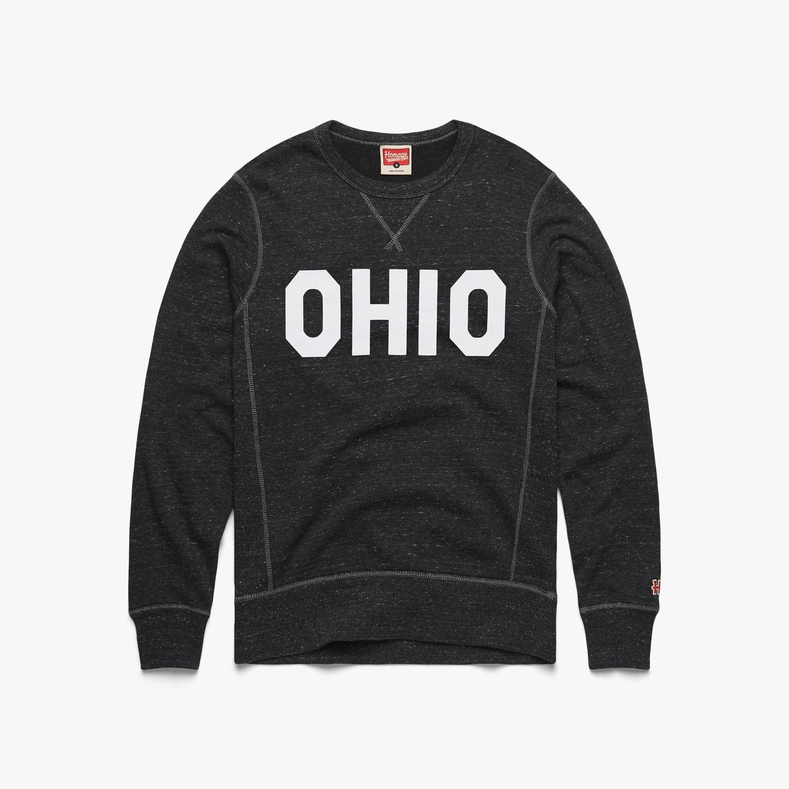 Block Ohio V-Stitch Crewneck