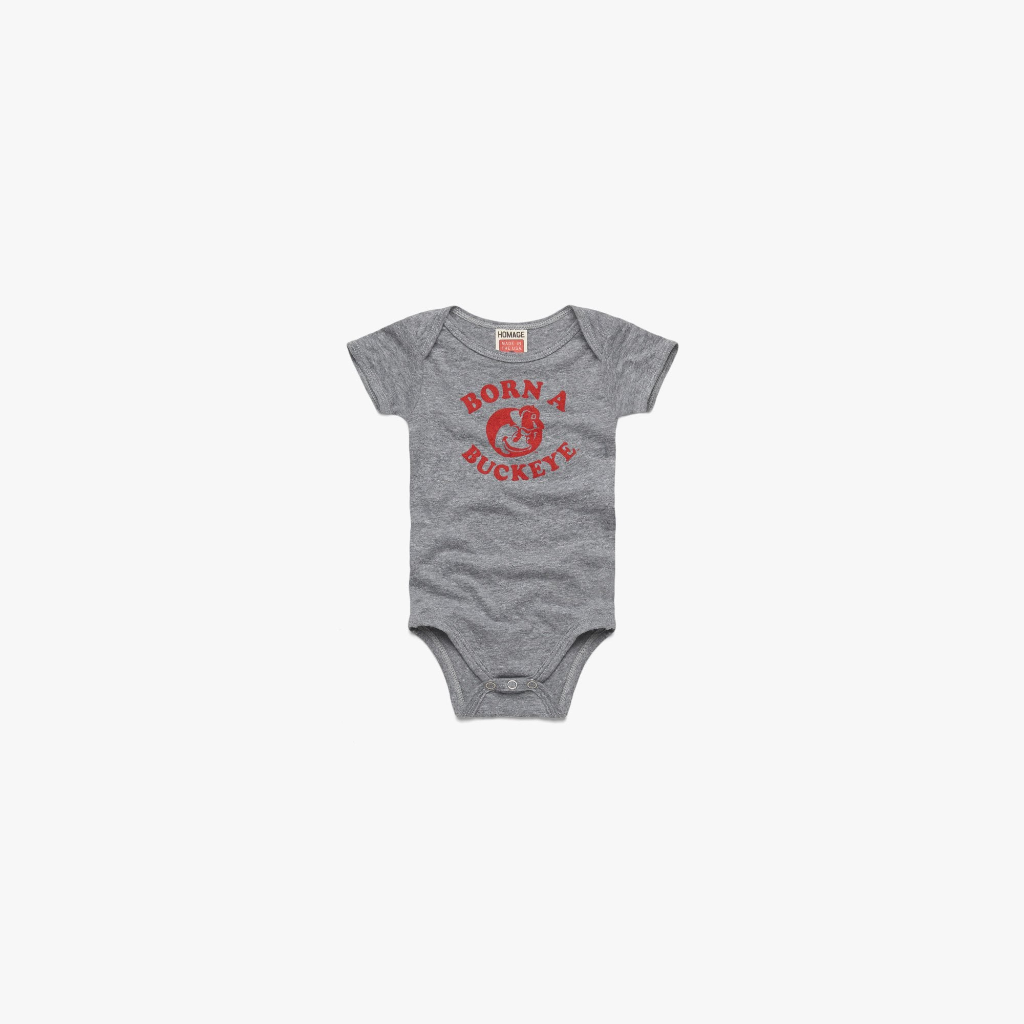 Born a Buckeye Baby One Piece