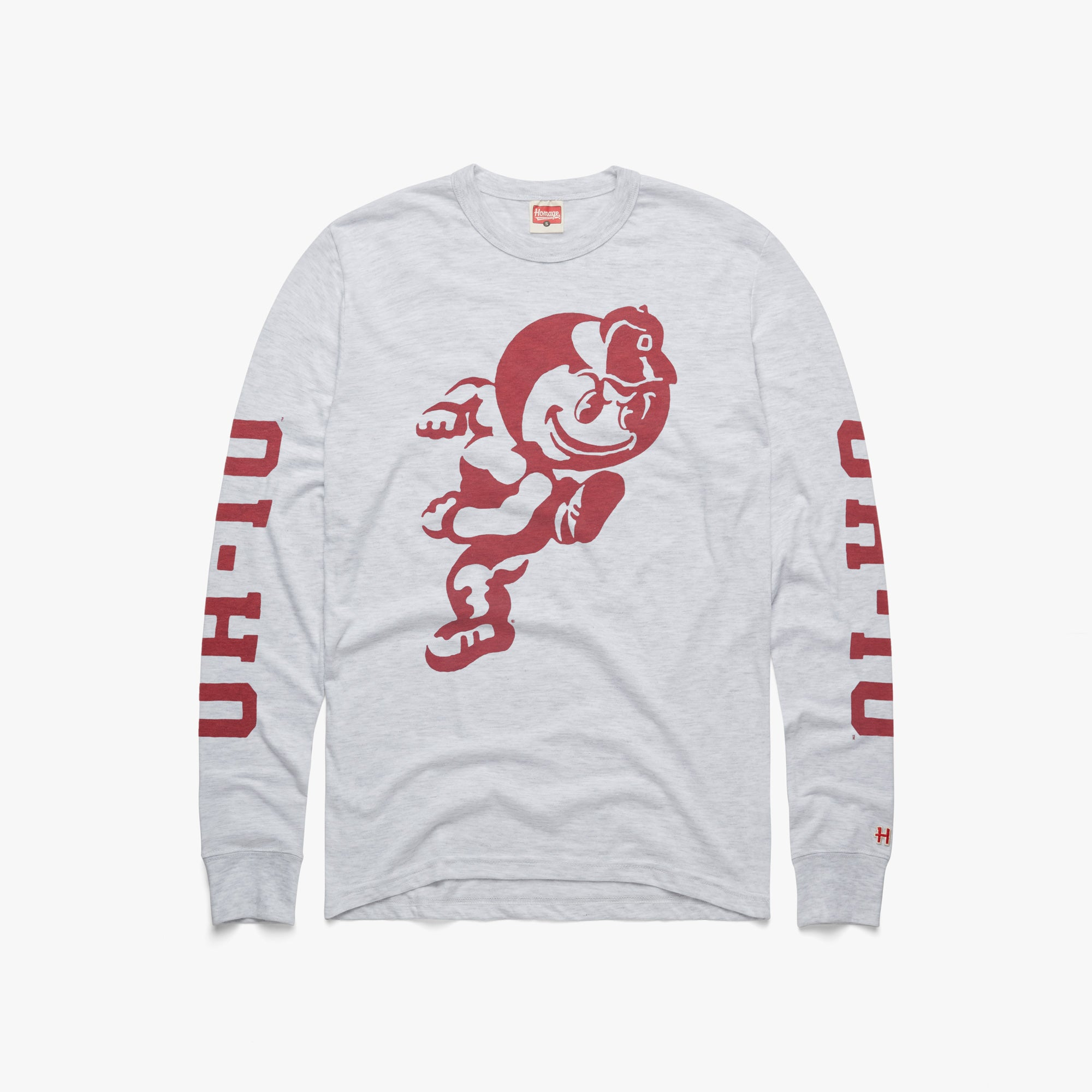 Brutus The Buckeye OH-IO Long Sleeve Tee