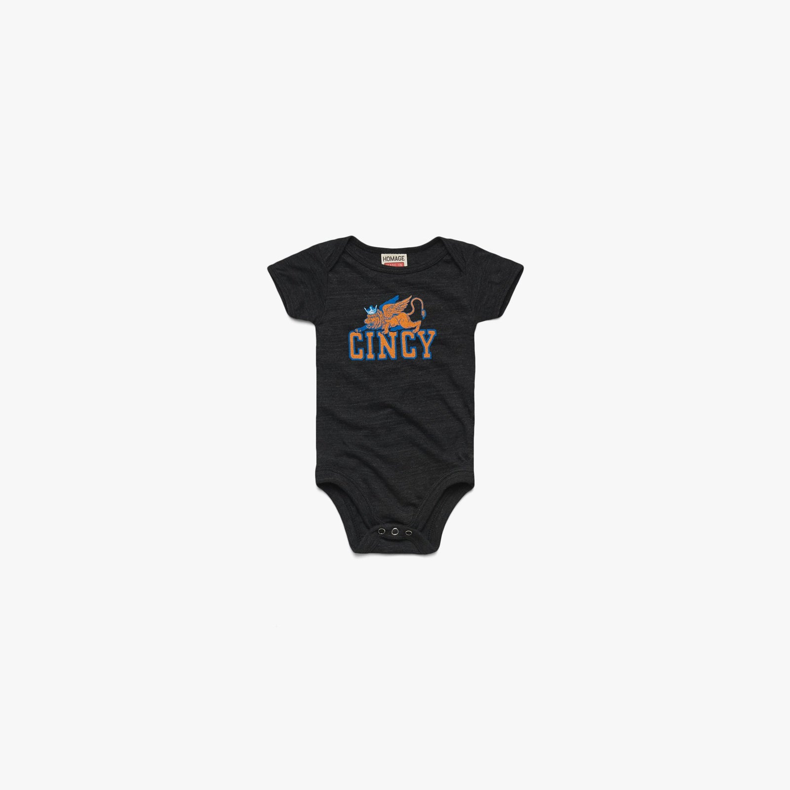 Cincy Lion And Crown Baby One Piece