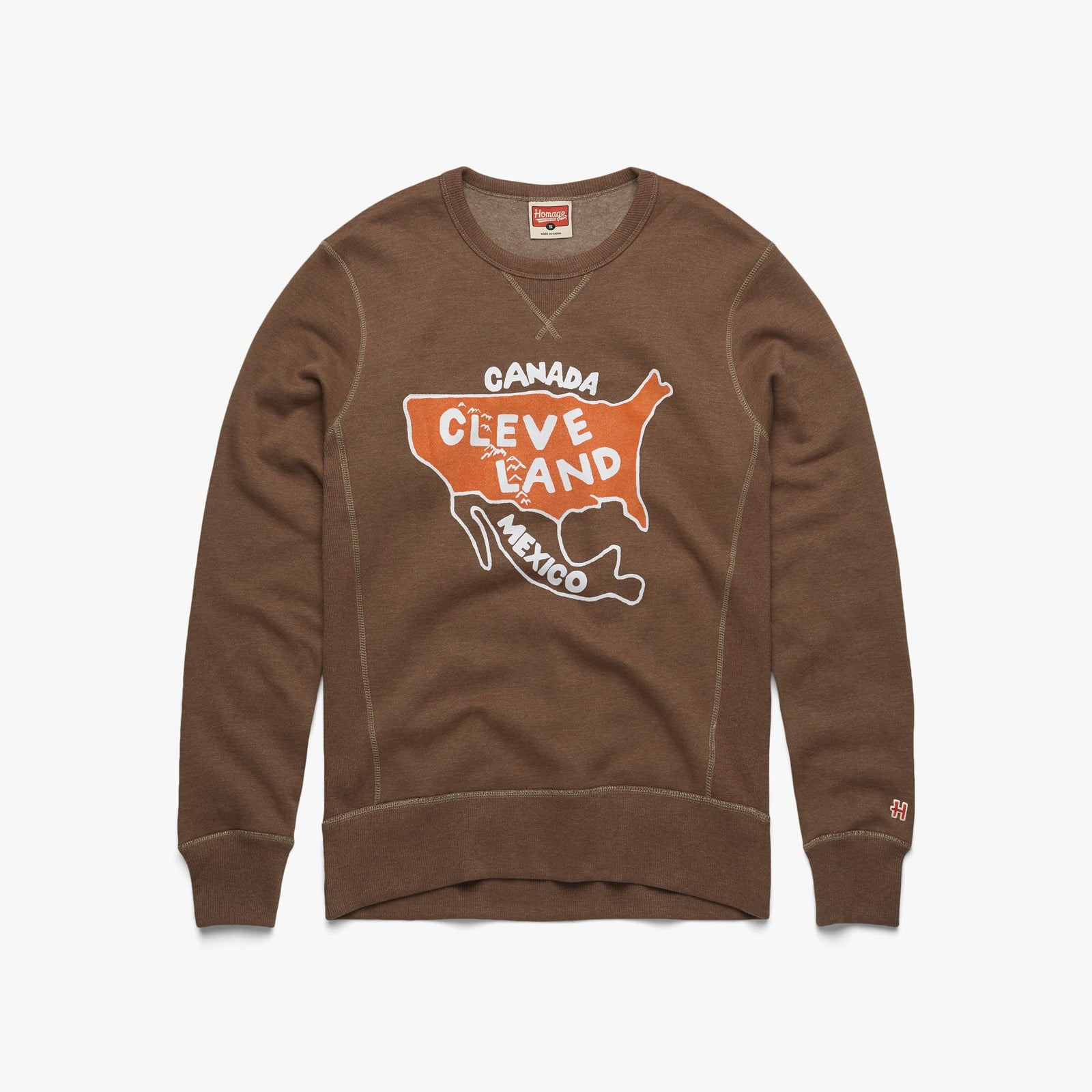 Cleveland: Center of the Universe V-Stitch Crewneck