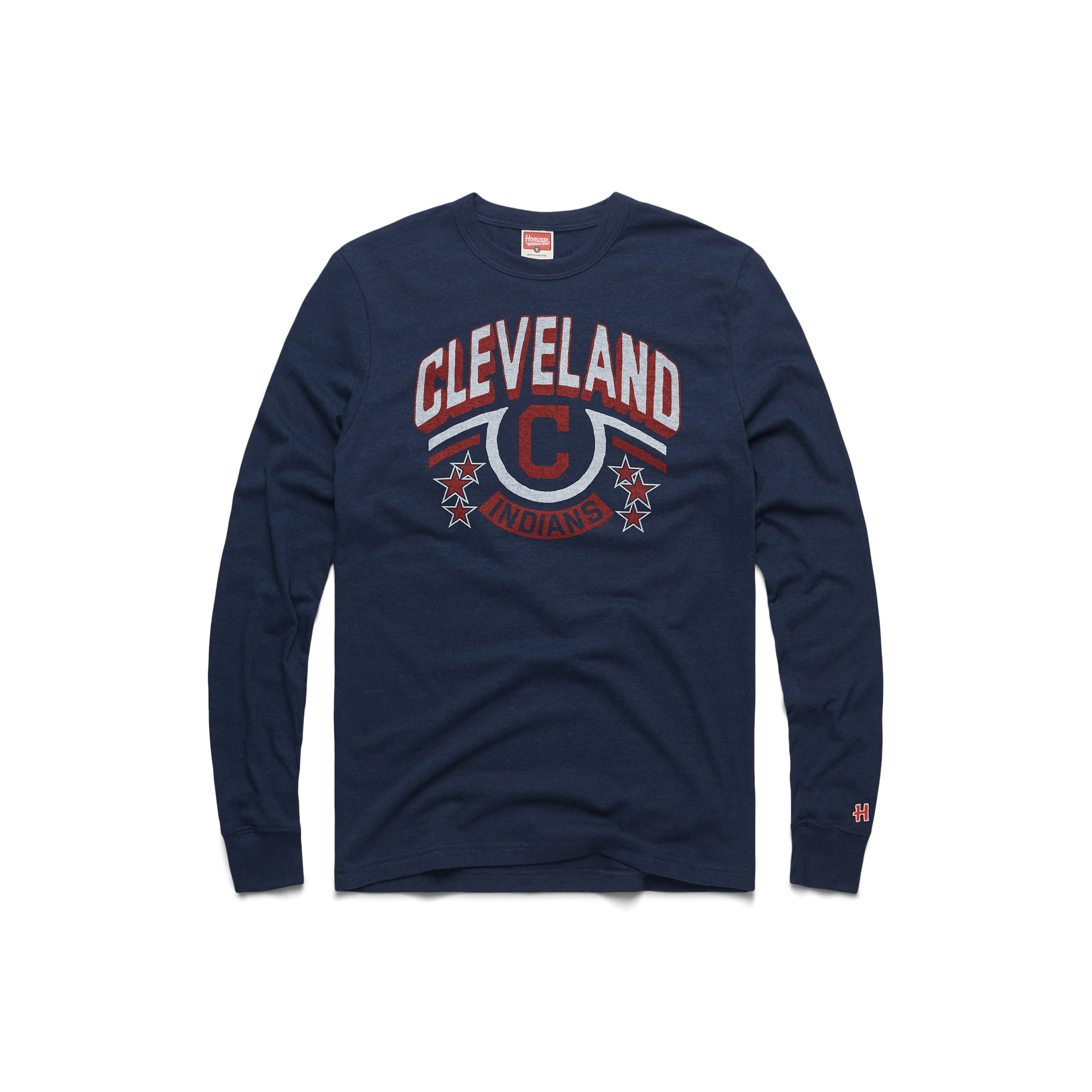 online store 8574f 30e24 Cleveland Indians Retro Officially Licensed MLB Apparel – HOMAGE