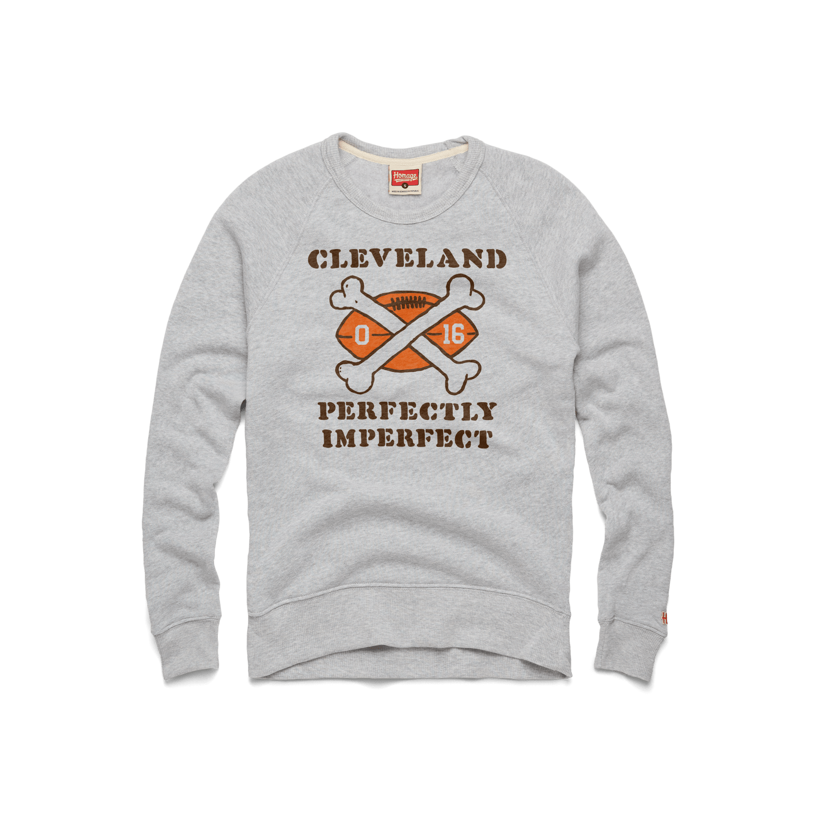 Cleveland Perfectly Imperfect Crewneck