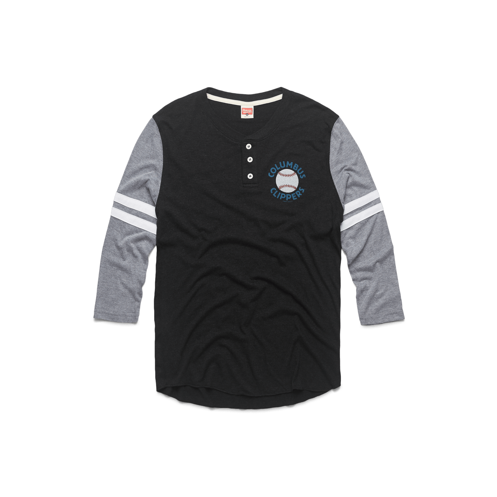 Columbus Clippers Baseball Henley