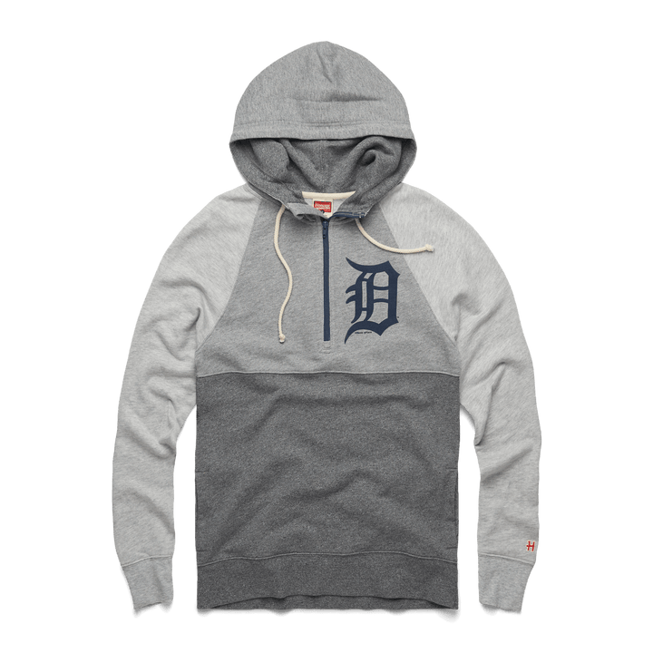 first rate e40fb a55a5 Detroit Tigers  16 Power Zip Michigan Baseball MLB Hoodie – HOMAGE