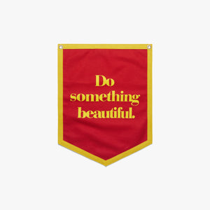 Do Something Beautiful Camp Flag