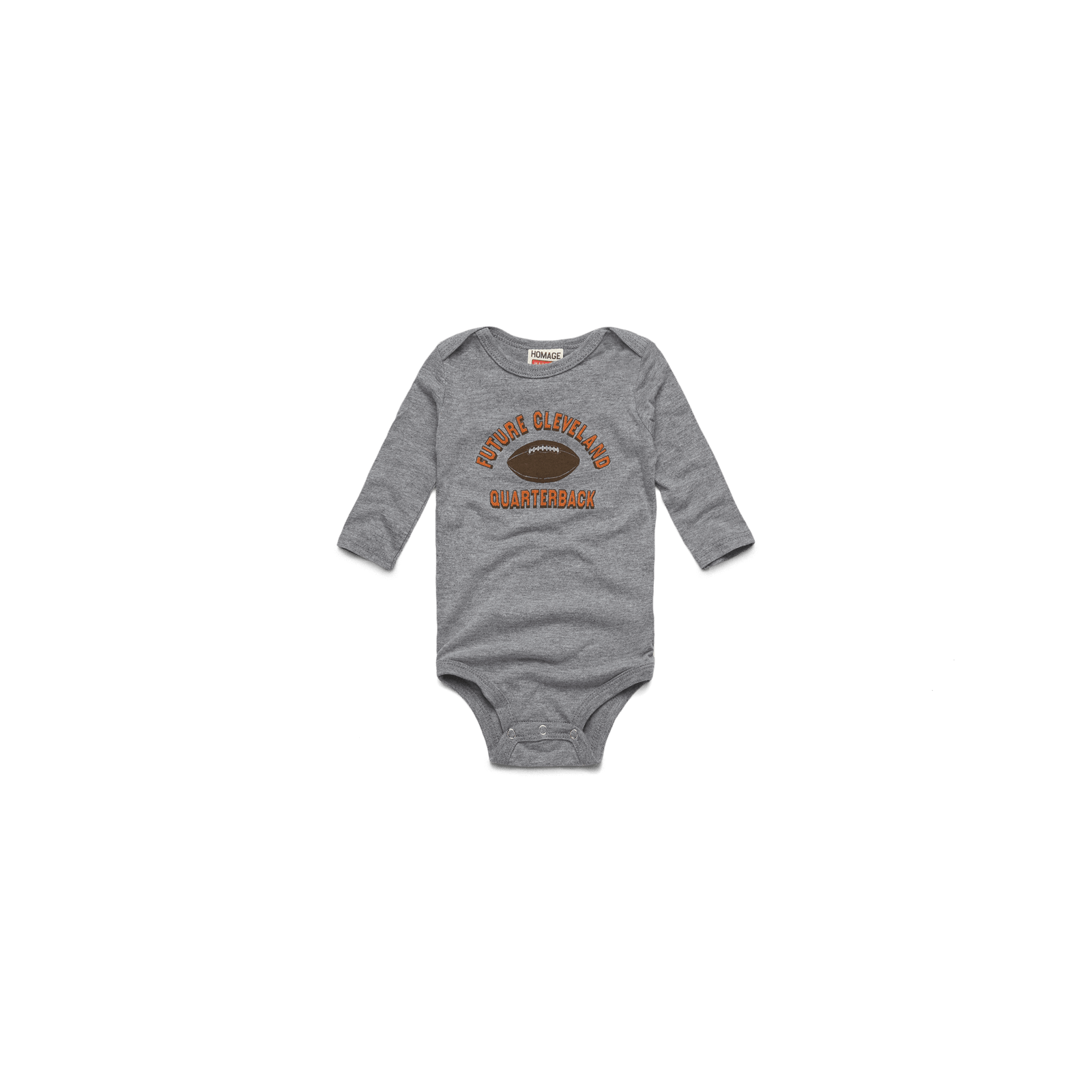Future Cleveland QB Long Sleeve Baby One Piece