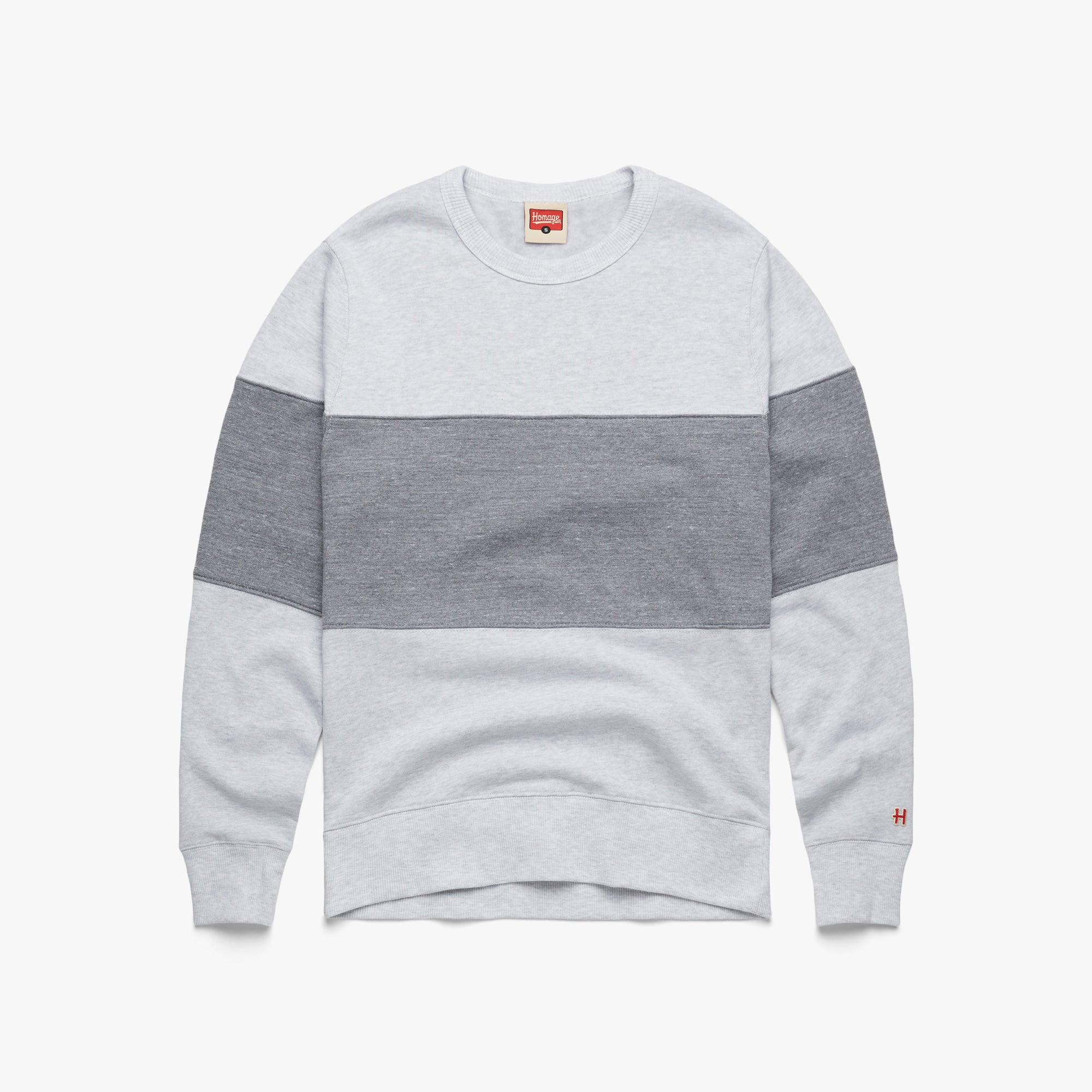 Go-To Stripe Crewneck