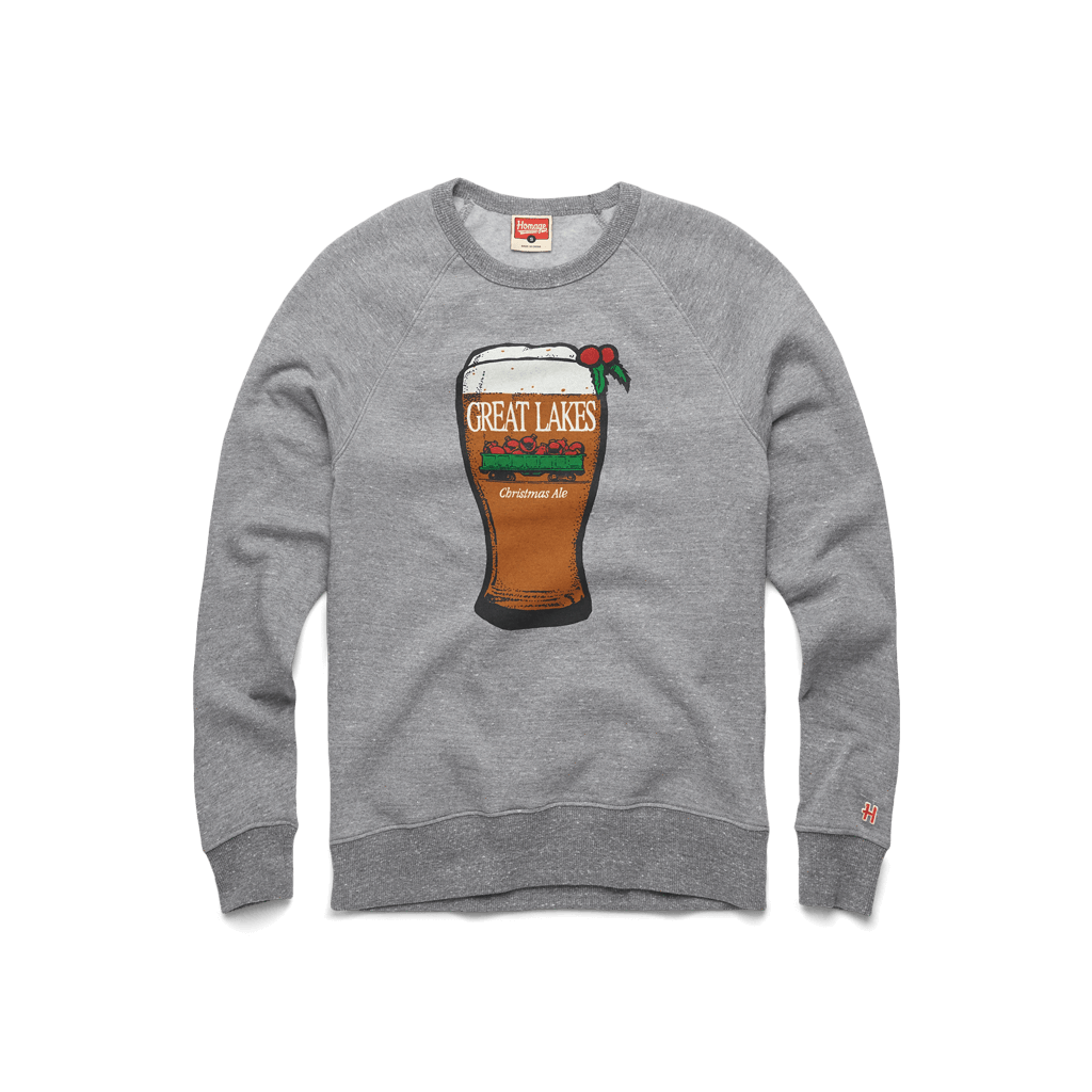 Great Lakes Christmas Ale Glass Crewneck