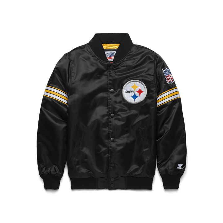 new products 70942 23fd4 HOMAGE X Starter Steelers Gameday Jacket