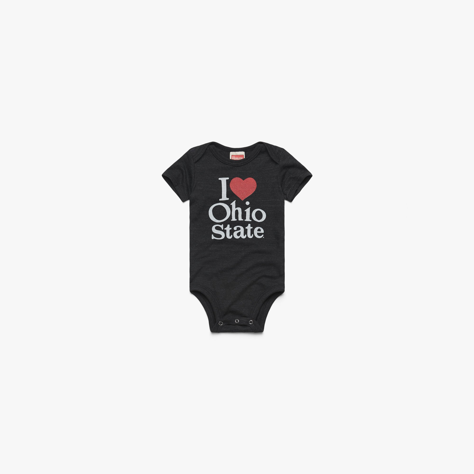 I Heart Ohio State Baby One Piece