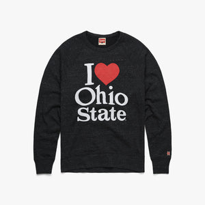 I Heart Ohio State Crewneck