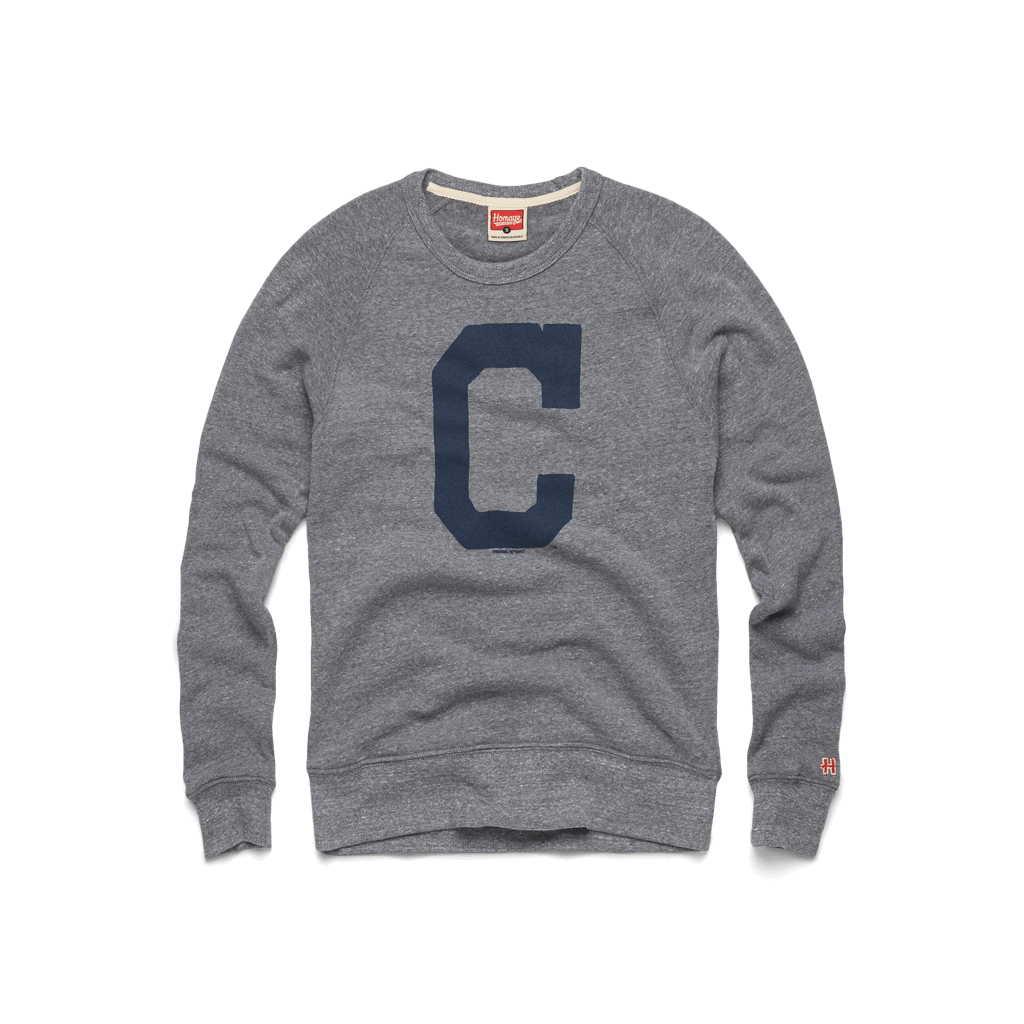 Indians Big C Crewneck