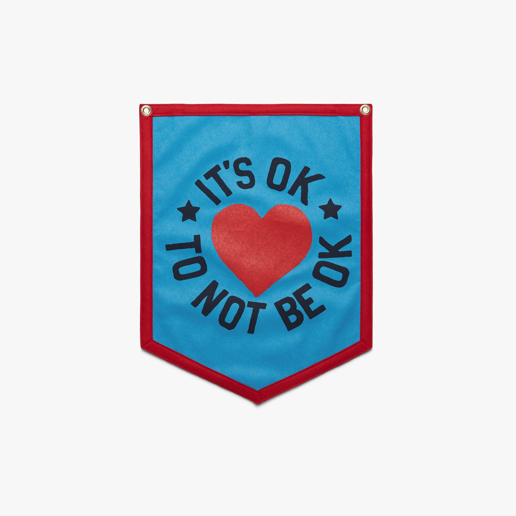 It's Ok To Not Be Ok Camp Flag
