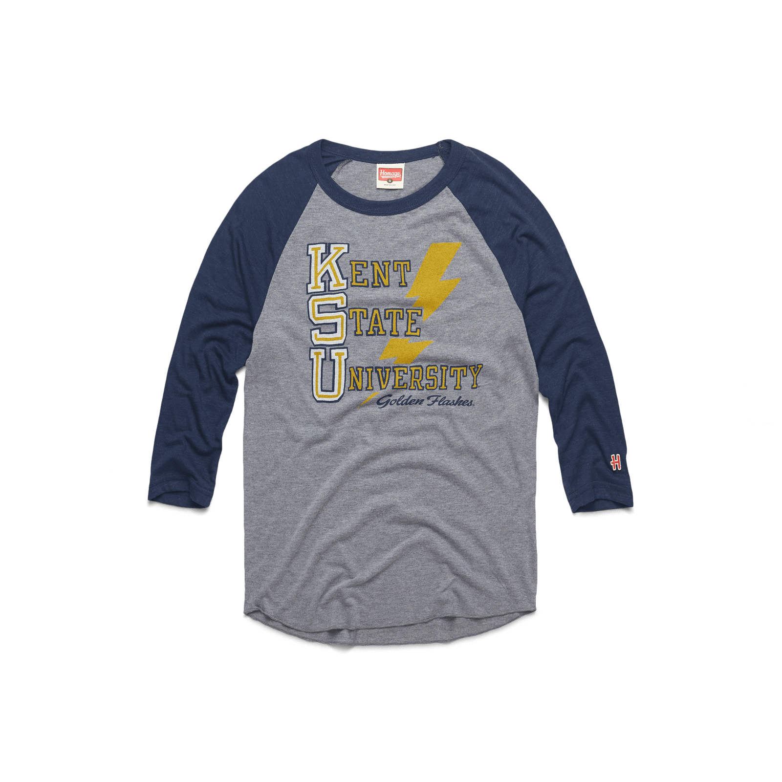KSU Golden Flash Raglan