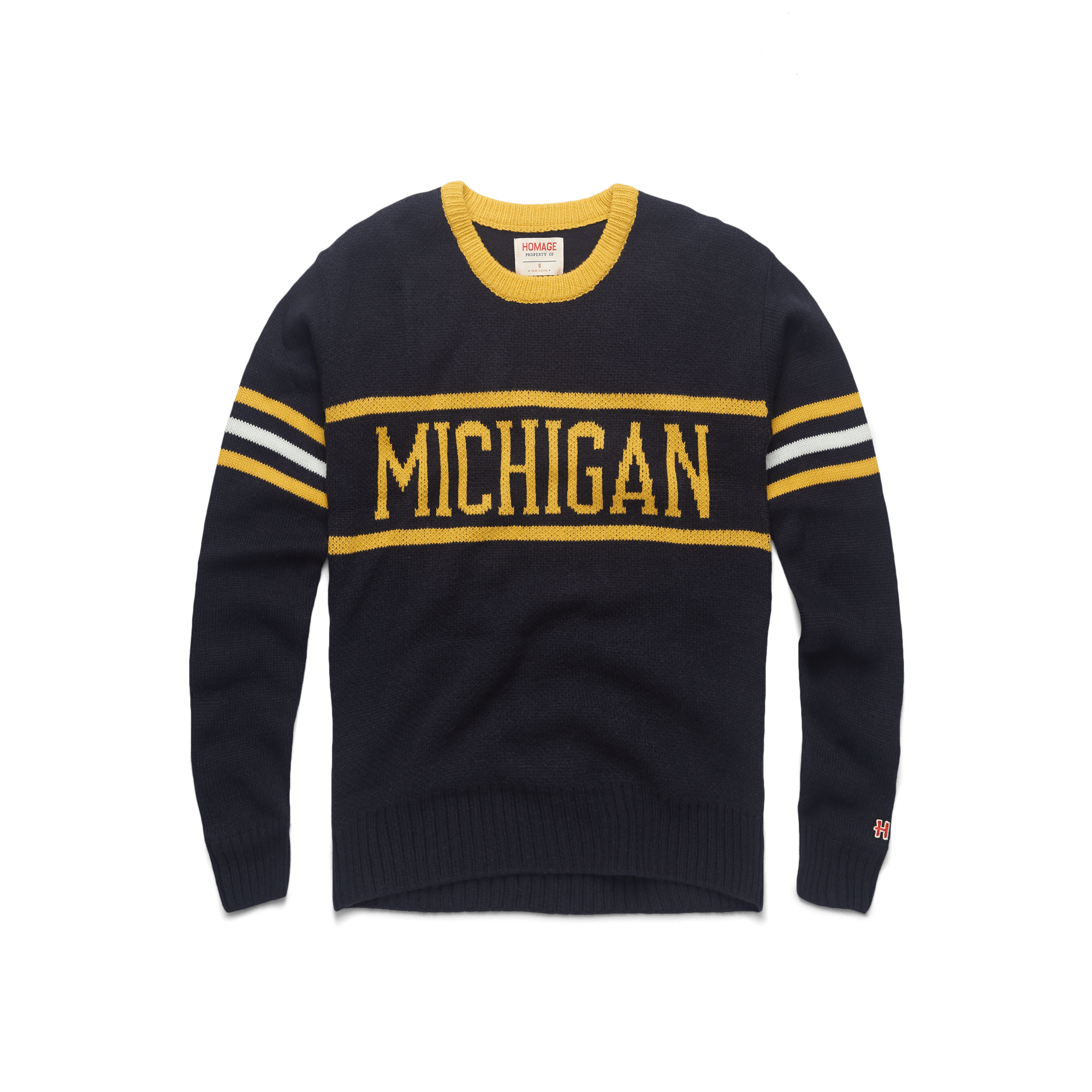 8e8add9d9f3 University Of Michigan UM Wolverines Collegiate Apparel – HOMAGE
