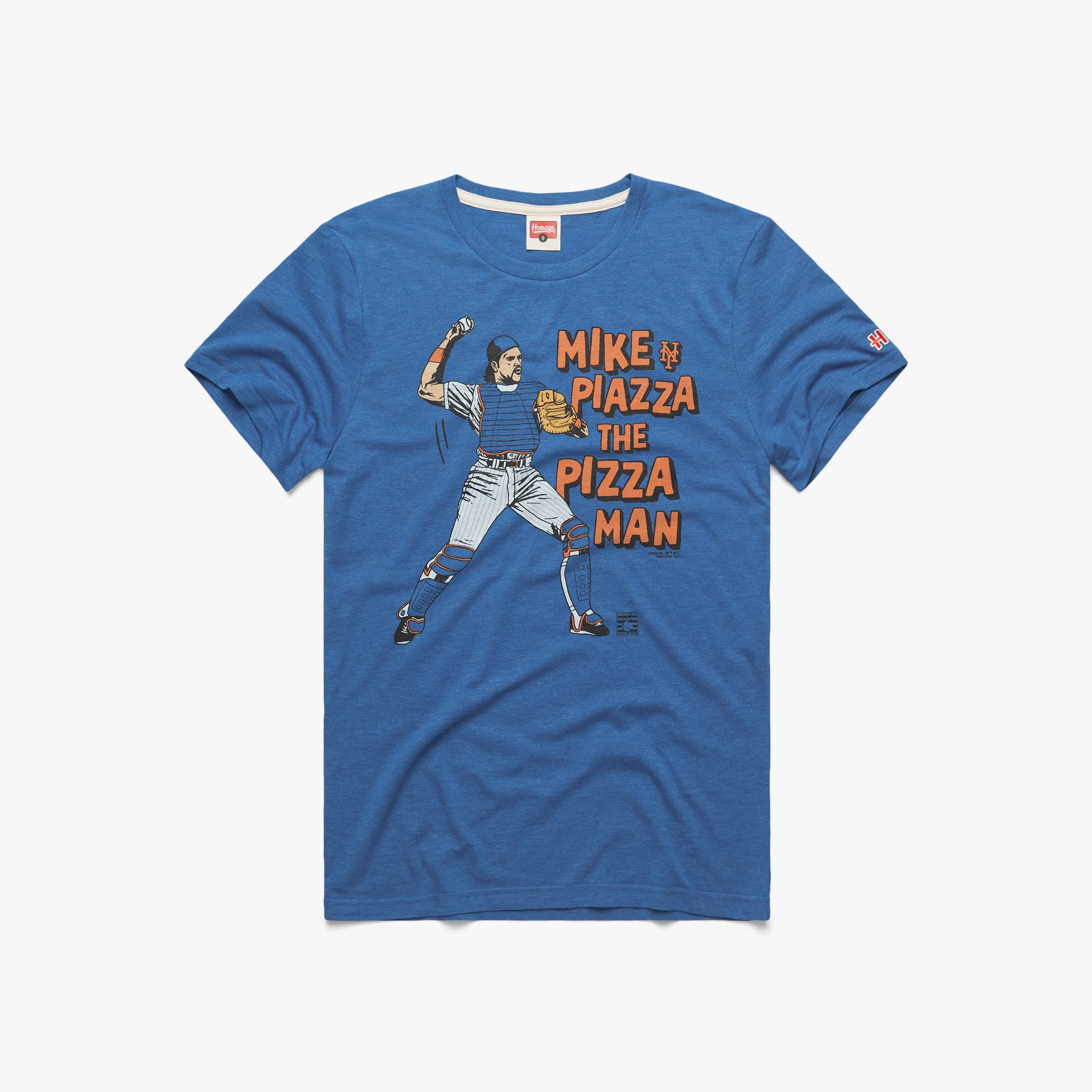Mike Piazza Mets Caught Stealing