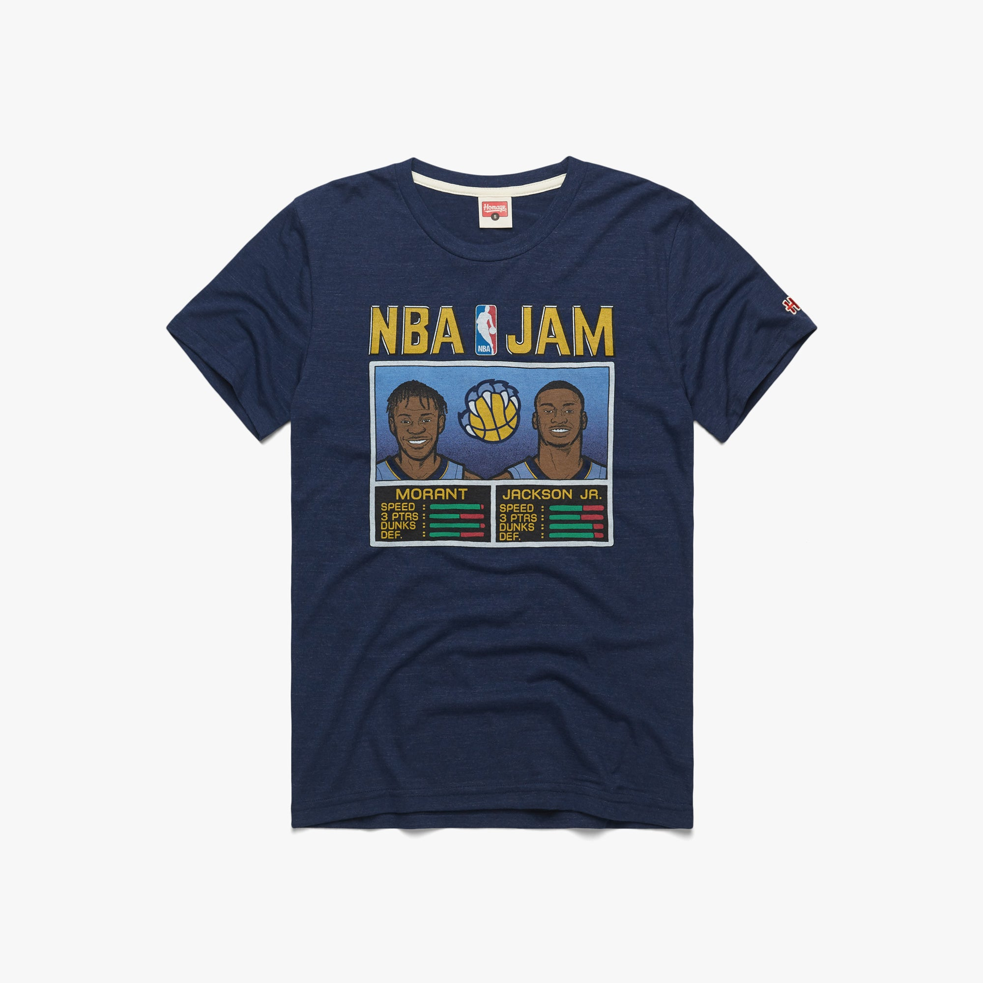 NBA Jam Grizzlies Morant And Jackson