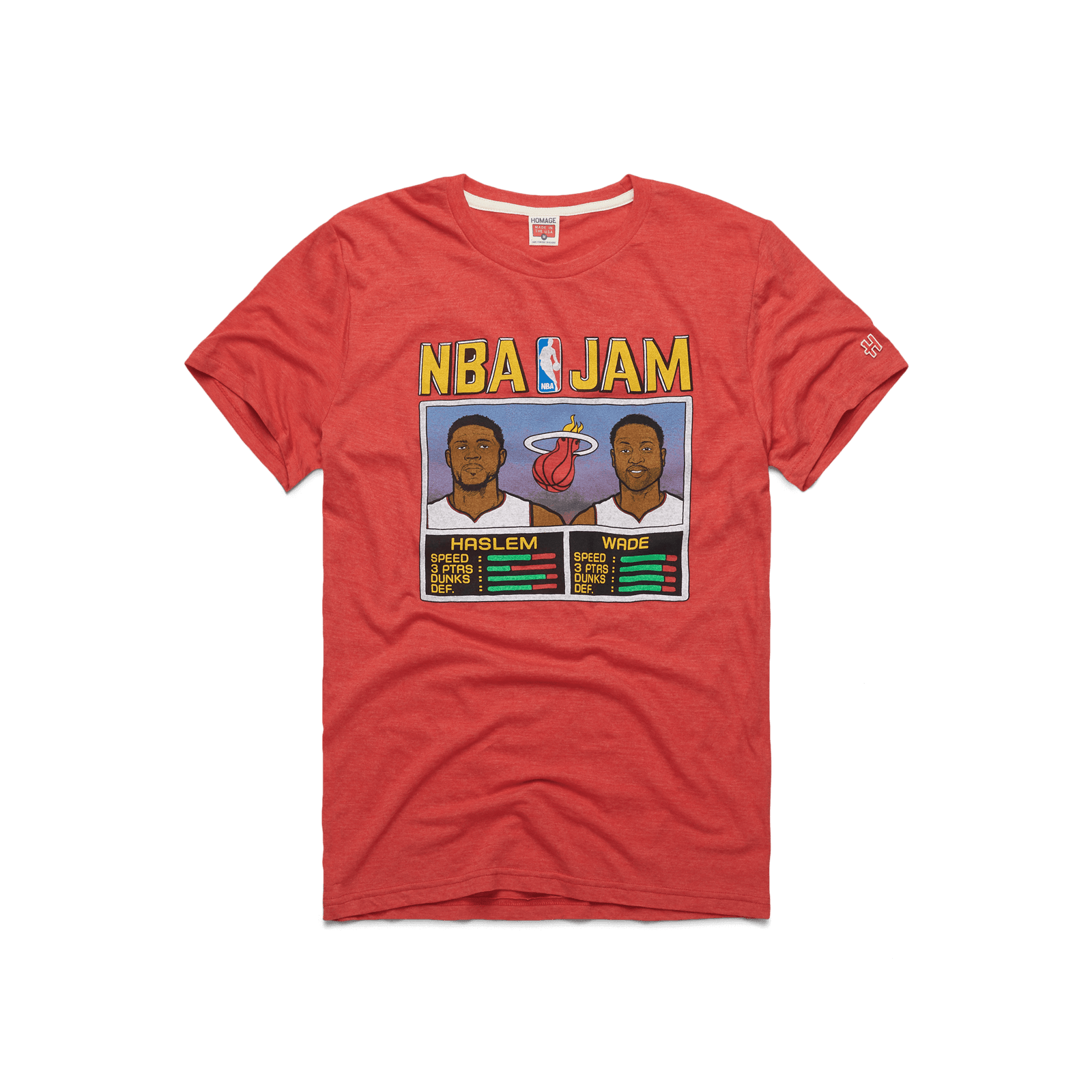 NBA Jam Heat Haslem And Wade