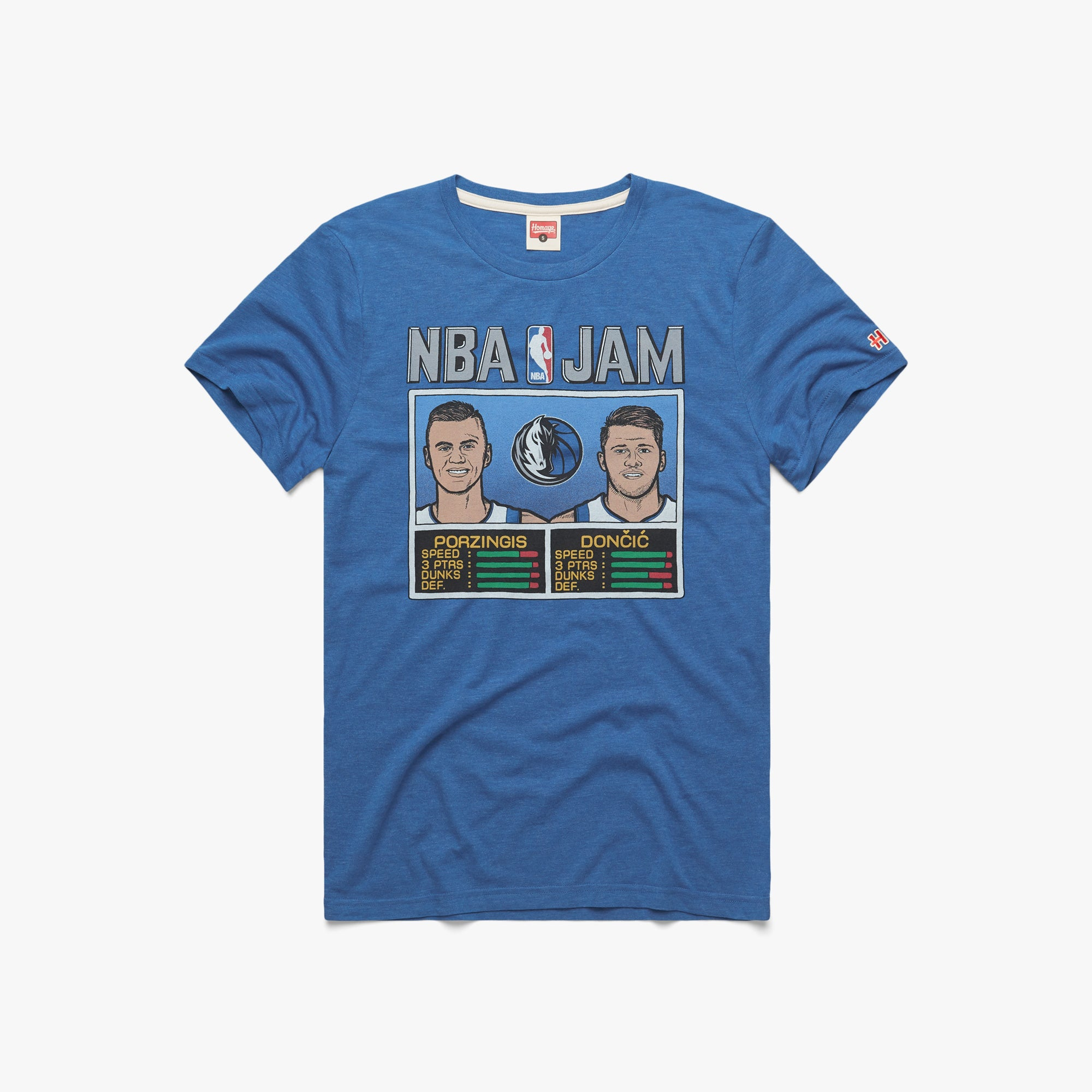 NBA Jam Mavericks Porzingis And Doncic