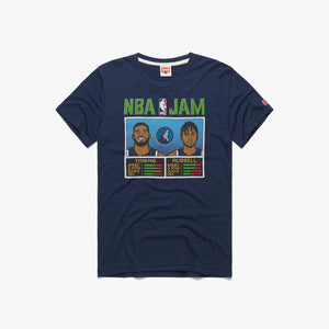 NBA Jam Timberwolves Towns And Russell