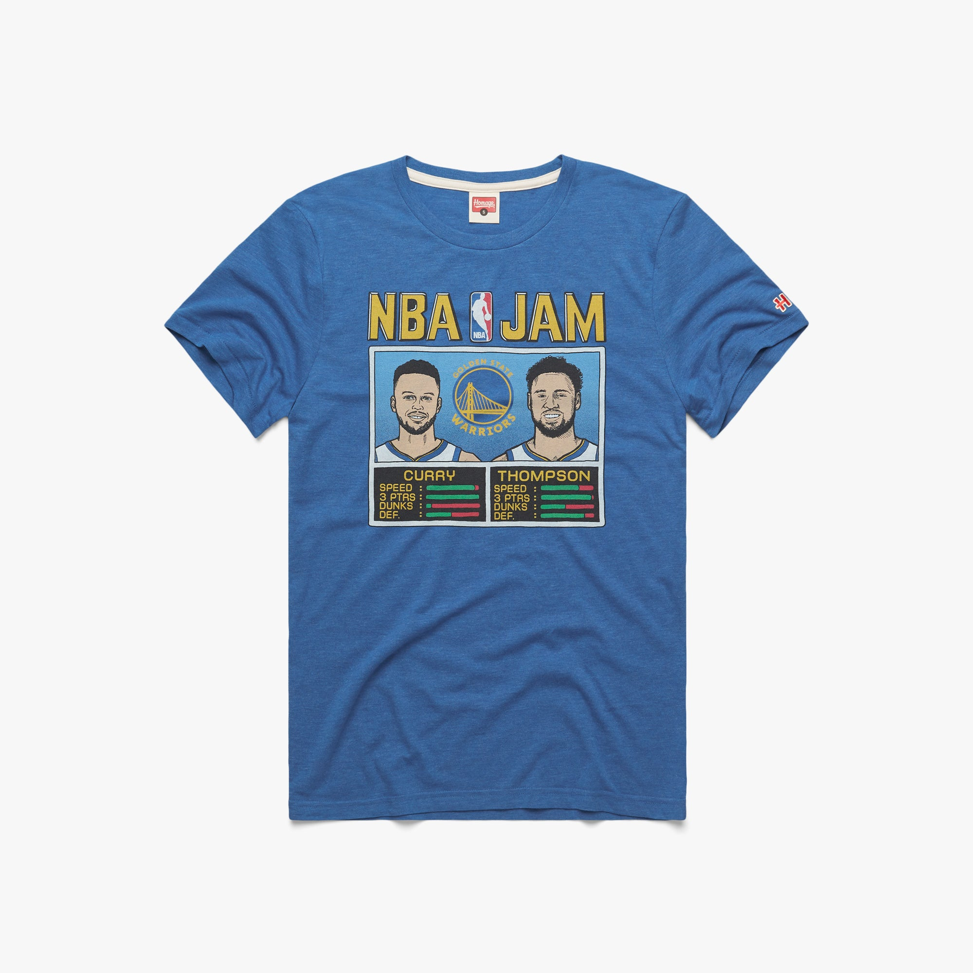 NBA Jam Warriors Curry And Thompson