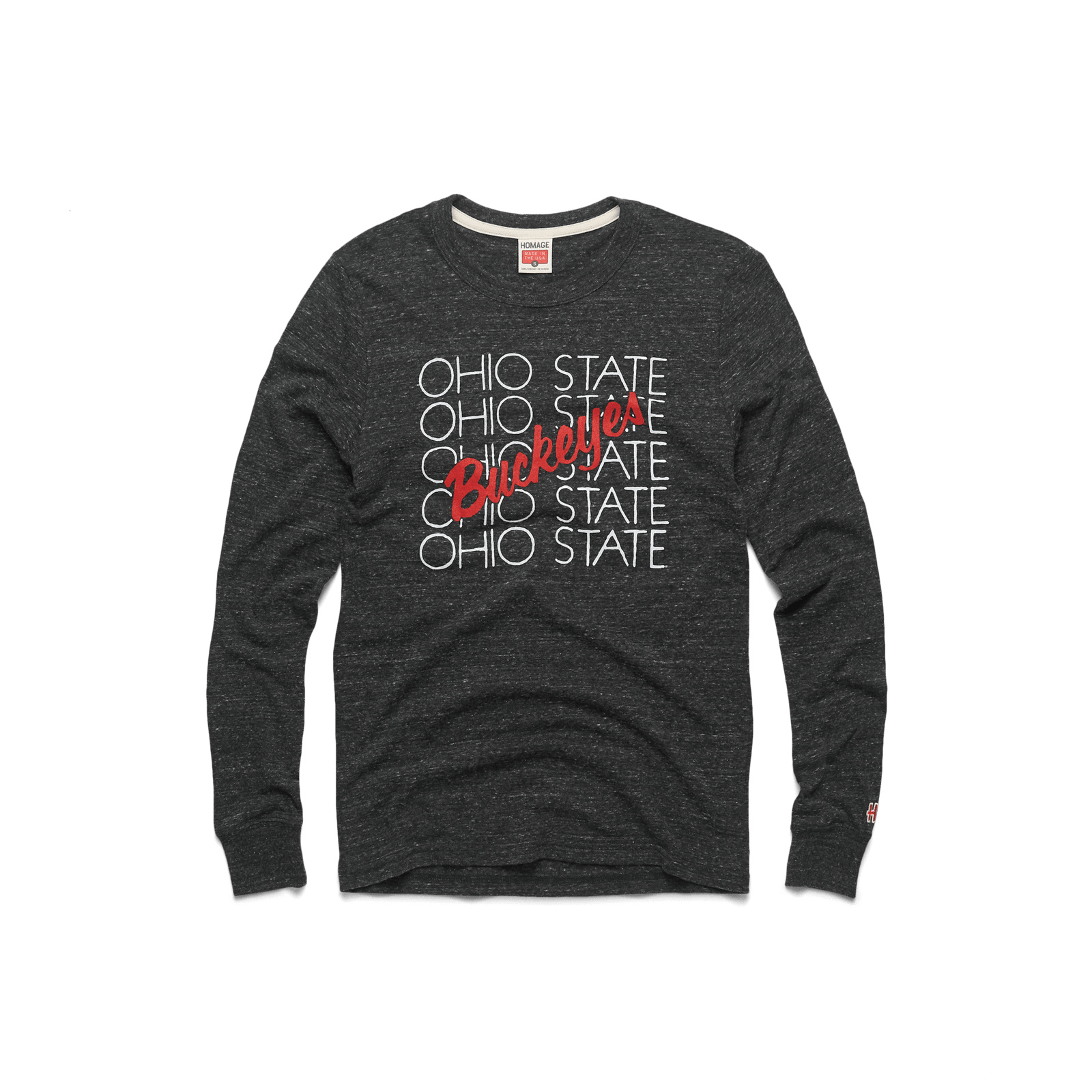 Ohio State Attitude Long Sleeve Tee