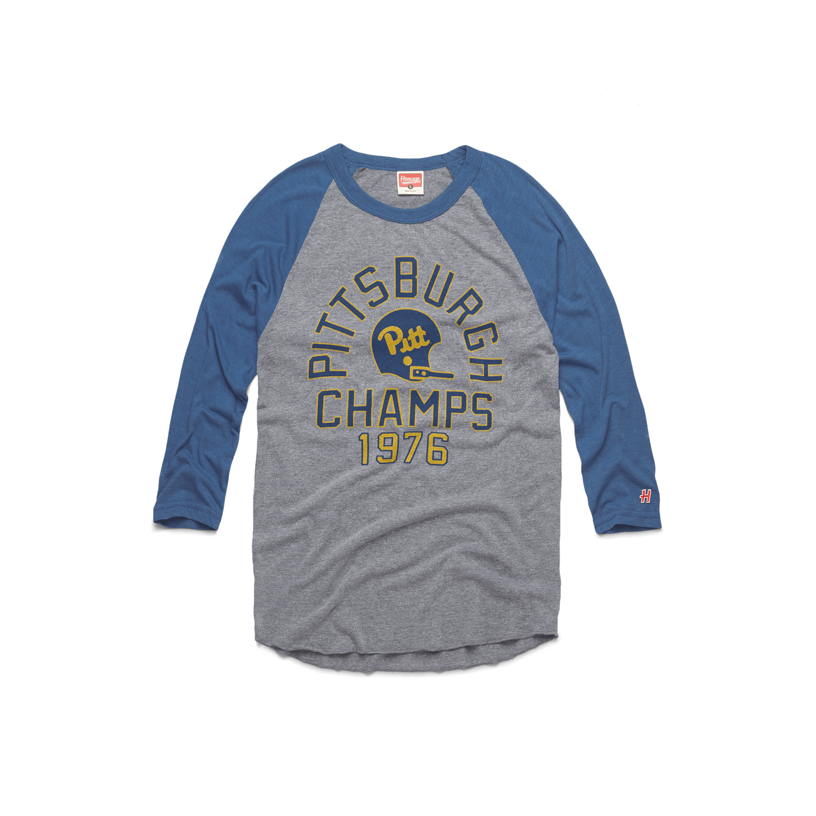 Pitt Football 1976 Champs Raglan