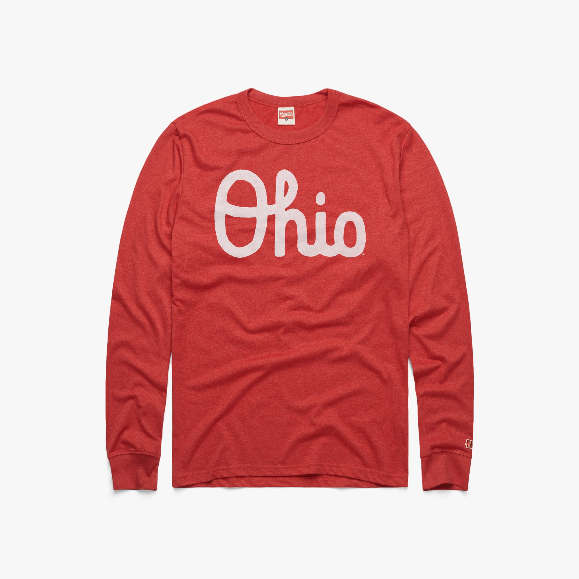 Script Ohio Long Sleeve Tee