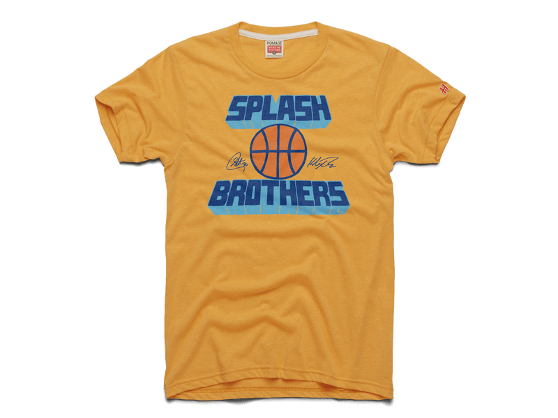 Splash Brothers Curry And Thompson